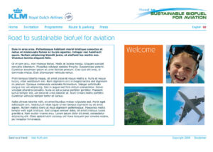 KLM - Sustainable Fuel
