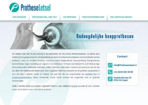 Protheseletsel
